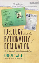 Ideology and the Rationality of Domination Book