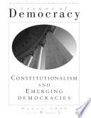 Constitutionalism and Emerging Democracies Book