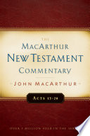 Acts 13 28 Macarthur New Testament Commentary