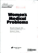 Women s Medical Problems Book