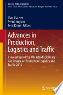 Advances in Production  Logistics and Traffic