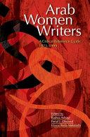 Arab Women Writers