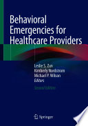 Behavioral Emergencies for Healthcare Providers Book