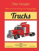 Trucks Coloring Book for Adults
