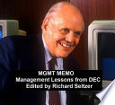 MGMT MEMO: Management Lessons from DEC