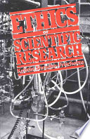 Ethics Of Scientific Research Book PDF