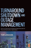 Pdf Turnaround, Shutdown and Outage Management