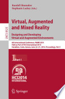 Virtual  Augmented and Mixed Reality  Designing and Developing Augmented and Virtual Environments