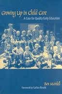 Growing Up in Child Care Book PDF