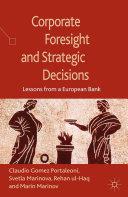 Corporate Foresight and Strategic Decisions Pdf/ePub eBook