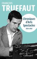 Pdf Chroniques d'Arts-Spectacles (1954-1958) Telecharger