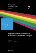 Applications of synchrotron radiation to materials analysis / edited by H. Saisho and Y. Gohshi