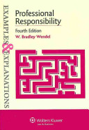Professional Responsibility: Examples and Explanations book cover