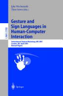 Gesture and Sign Languages in Human Computer Interaction