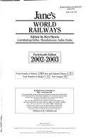 Jane s World Railways