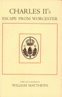 Pdf Charles II's Escape from Worcester