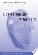 Übersetzen als Performanz