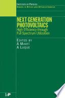 Next Generation Photovoltaics Book