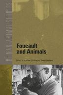 Foucault and Animals