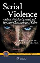 Serial Violence Pdf/ePub eBook