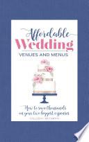 Affordable Wedding Venues   Menus Book PDF
