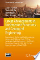Latest Advancements In Underground Structures And Geological Engineering