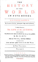 The History of the World in Five Books
