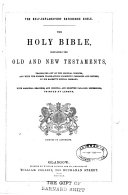 The Self explanatory Reference Bible