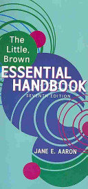 Cover of The Little, Brown Essential Handbook