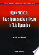 Applications of Pad   Approximation Theory in Fluid Dynamics Book
