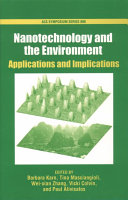 Nanotechnology And The Environment Book PDF