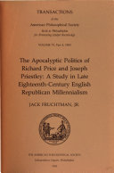 The Apocalyptic Politics of Richard Price and Joseph Priestley ebook