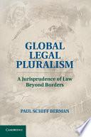 Global Legal Pluralism Book