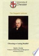 Choosing Or Losing Health  Book PDF