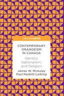 Contemporary Orangeism in Canada