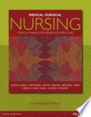 """Medical-Surgical Nursing"" by Priscilla LeMone, Karen Burke, Trudy Dwyer, Tracy Levett-Jones, Lorna Moxham, Kerry Reid-Searl"