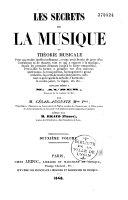 Les secrets de la musique ou Théorie musicale...