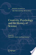 Creativity Psychology And The History Of Science Book PDF