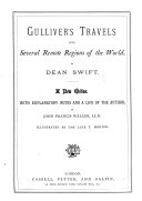 Gulliver s Travels     Illustrated  A new edition  Carefully edited by a Clergyman J  L   i e  James Lupton