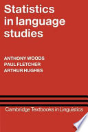 Statistics in language studies anthony woods paul fletcher anthony woods paul fletcher arthur hughes fandeluxe Image collections