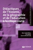 Didactiques de l'histoire, de la géographie et de l'éducation à la citoyenneté Pdf/ePub eBook
