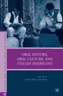 Oral History, Oral Culture, and Italian Americans [Pdf/ePub] eBook
