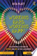 Working Hard  Working Happy Book