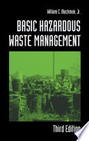 Basic Hazardous Waste Management, Third Edition