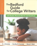 The Bedford Guide for College Writers with Reader, Research Manual, and Handbook (4-In-1) 11e (Paper) and LaunchPad Solo for Readers and Writers (Six-Month Access)