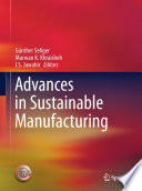 Advances in Sustainable Manufacturing Book
