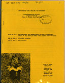 The Maintenance and Transmission of Epizootic Hemorrhagic Disease of Deer and Bluetongue Virus in North Dakota Wildlife Book