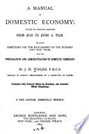 A Manual of Domestic Economy Book