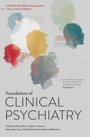 Cover of Foundations of Clinical Psychiatry Fourth Edition