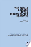 The Public Library in the Bibliographic Network